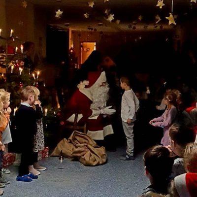 Weihnachtsmann für KITA mieten